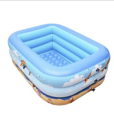 兒童游泳池家用家庭充氣泳池超大號小孩洗澡戲水桶創時代3C 交換禮物 送禮