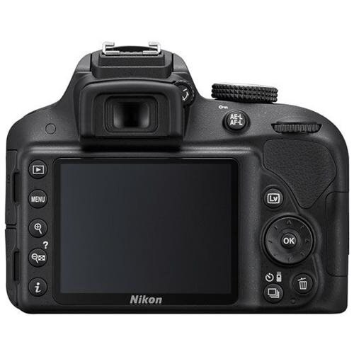 "Nikon D3300 24.2 Megapixel Digital SLR Camera Body Only - 18 mm - 55 mm - Black - 3"" LCD - 16:9 - 3.1x Optical Zoom - Optical (IS) - 6000 x 4000 Image - 1920 x 1080 Video - HDMI - HD Movie Mode 2"