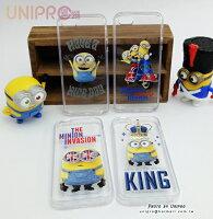 【UNIPRO】iPhone 5 5S 小小兵 Minions 正版授權 BOB TPU 透明手機殼 保護套