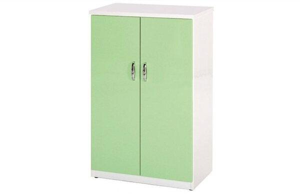 【石川家居】853-06(綠白色)鞋櫃(CT-308)#訂製預購款式#環保塑鋼P無毒防霉易清潔