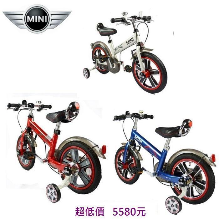 *美馨兒*MINI COOPER原廠授權兒童14吋腳踏車(三色可挑) 5580元