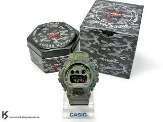 [10%OFF] kumastock 最新入荷 2015 超大 53.9mm 錶徑 CASIO G-SHOCK GD-X6900MC-3DR 軍綠 綠迷彩 叢林 迷彩 霧面錶帶 !