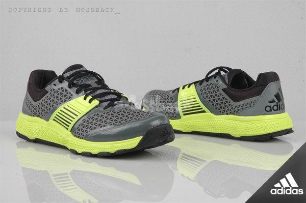 『Mossback』ADIDAS CRAZYTRAIN BOUNC 多功能訓練鞋 灰螢光黃(男)NO:B23614