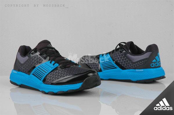 『Mossback』ADIDAS CRAZYTRAIN BOUNC 多功能訓練鞋 黑藍(男)NO:B23615