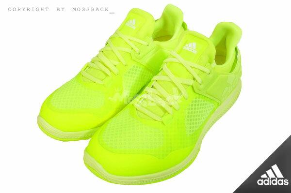 『Mossback』ADIDAS ATANI BOUNCE 多 訓練鞋 螢光黃 女 NO:
