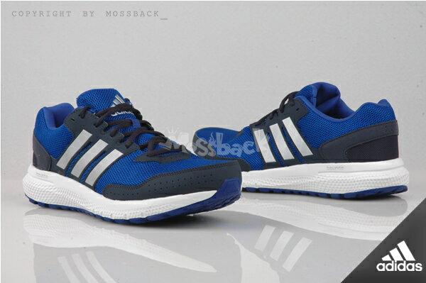 『Mossback』ADIDAS OZWEEGO BONUCE CUSHION M慢跑鞋 藍白黑(男)NO:AF6272