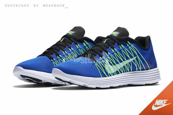 『Mossback』NIKE LUNARACER+ 3 飛線 慢跑 藍綠(女)NO:554683-401