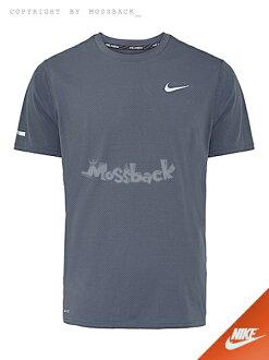 『Mossback』NIKE DRI-FIT CONTOUR SS 短袖 上衣 深灰(男)NO:683518-060