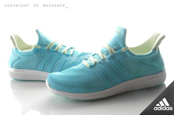 『Mossback』ADIDAS CC SONIC W 輕量 透氣 慢跑鞋 湖水綠(女)NO:AQ4715 0