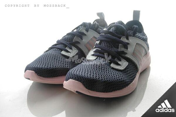 『Mossback』ADIDAS DURAMA W 輕量 透氣 慢跑 網狀 藍粉(女)NO:AQ5115 1