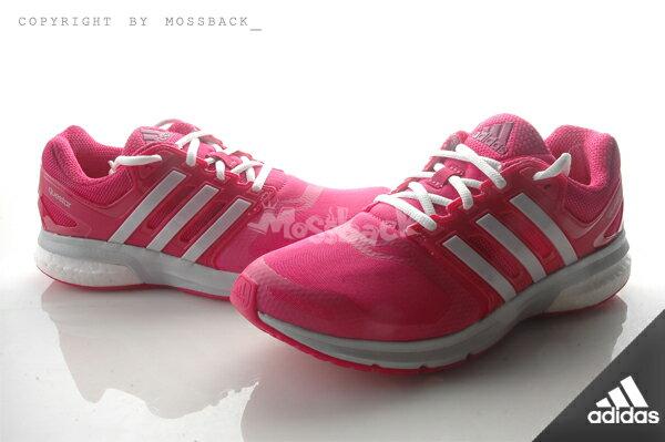 『Mossback』ADIDAS QUESTAR TF W BOOST 訓練 緩震 跑鞋 粉白(女)NO:AQ6638 0