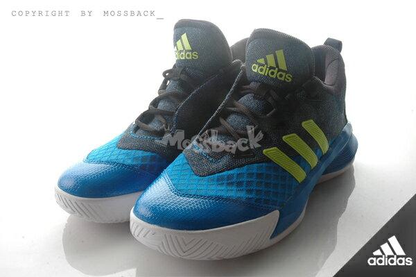 『Mossback』ADIDAS CRAZYLIGHT 2.5 ACTIVE 平民版 籃球 避震 藍黑(男)NO:AQ8597 1