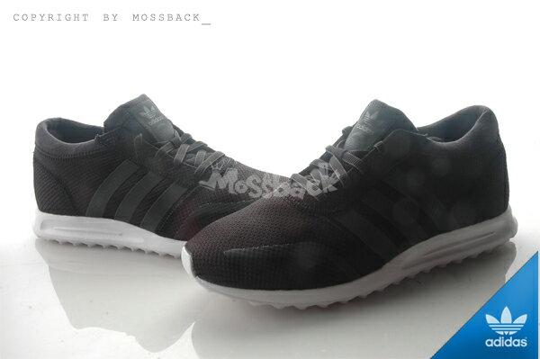 『Mossback』ADIDAS LOS ANGELES 網布 透氣 慢跑鞋 黑白(男)NO:S42019 0