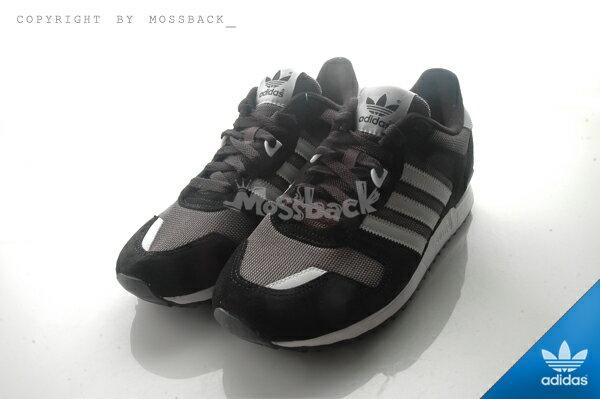 『Mossback』ADIDAS ZX 700  麂皮 反光 復古 慢跑鞋 黑灰白(男)NO:S79185 1