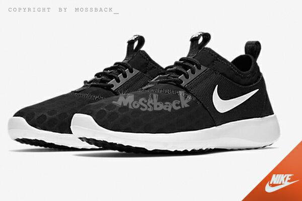 『Mossback』NIKE W JUVENATE 網布 輕量 慢跑鞋 黑白(女)NO:724979-009