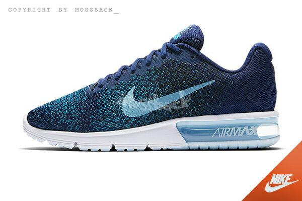 『Mossback』NIKE AIR MAX SEQUENT 2 氣墊 慢跑鞋 深藍(男)NO:852461-405 0