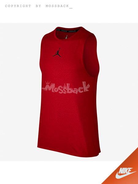 『Mossback』NIKE JORDAN 喬丹 訓練 透氣 短T 黑色(男)NO:866591-010