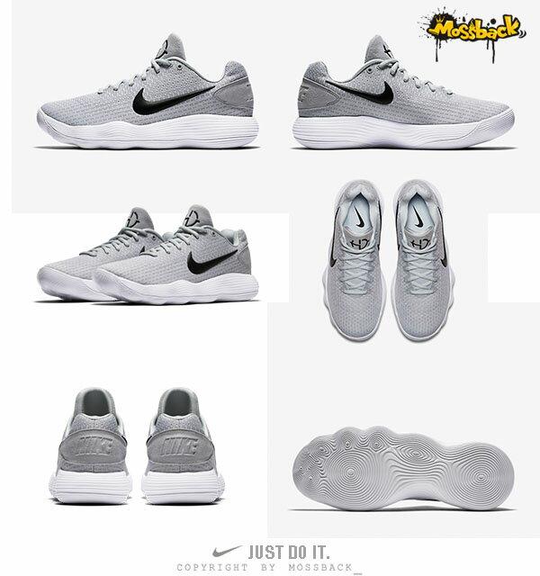 『Mossback』NIKE HYPERDUNK 2017 LOW XDR 籃球鞋 灰白(男)NO:897637-100 2
