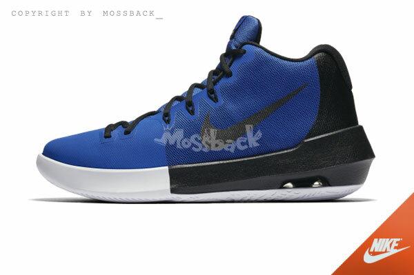 『Mossback』NIKE AIR INTERGRATE 籃球鞋 耐磨 高筒 藍黑(男)NO:898453-400 1