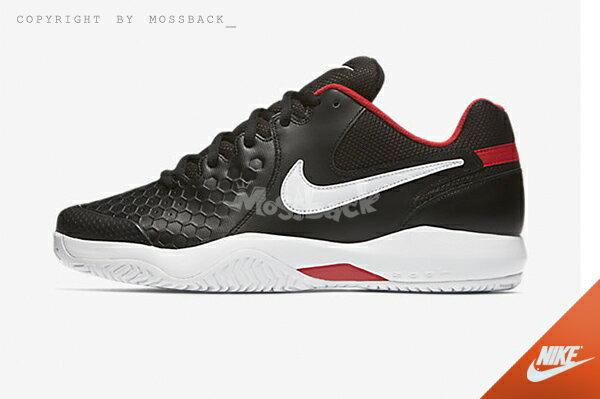 『Mossback』NIKE AIR ZOOM RESISTANCE 網球鞋 黑白紅(男)NO:918194-001 1