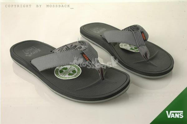 『Mossback』VANS NEXPA SYNTHETIC 布帶 防滑 拖鞋 人字拖 灰黑(男)NO:41062136