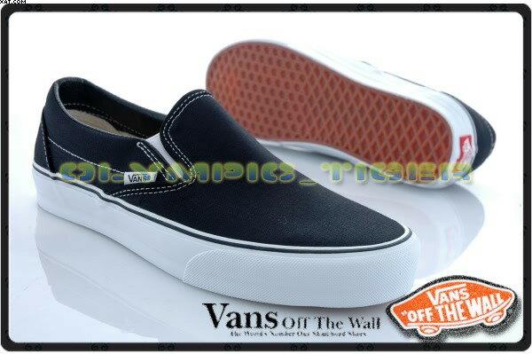 『Mossback』VANS SLIP-ON 經典基本款 百搭 懶人鞋至尊鞋 全黑NO:C011799