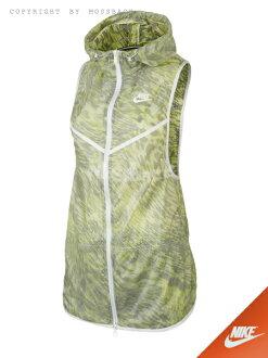 『Mossback』NIKE TECH HYPERFUSE 運動 背心 外套 綠黑白(女)NO:645024-702