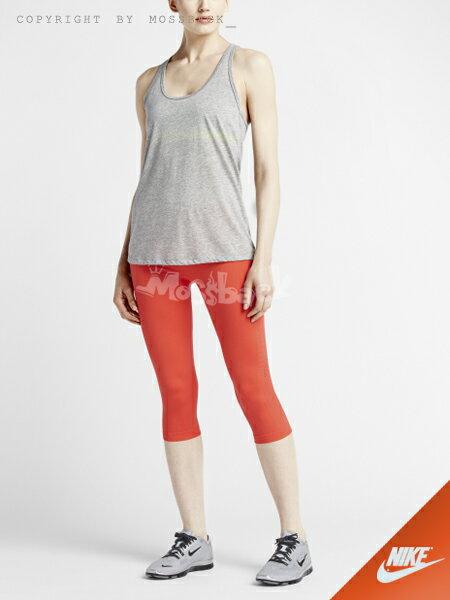 『Mossback』NIKE PRO LIMITLESS 訓練 七分 緊身褲 紅色(女)NO:648534-647