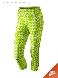 『Mossback』NIKE LEGEND LNDN DMND CAPRI 緊身褲 綠色(女)NO:651574-702