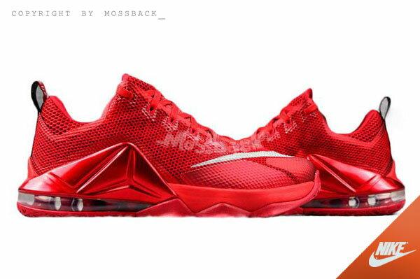 78e4342f0a303 特賣『Mossback』NIKE LEBRON XII LOW EP 低筒籃球鞋紅色(男)NO-724558-616分享-明星商品