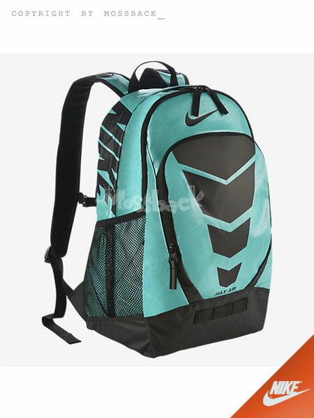 『Mossback』NIKE MAX AIR 氣墊 後背包 運動 雙肩 藍綠NO:BA4983-406