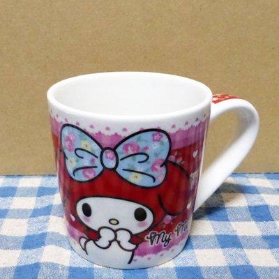 【真愛日本】14071800008 馬克杯-玫瑰紅MM 三麗鷗家族 Melody 美樂蒂 杯子 馬克杯 陶瓷