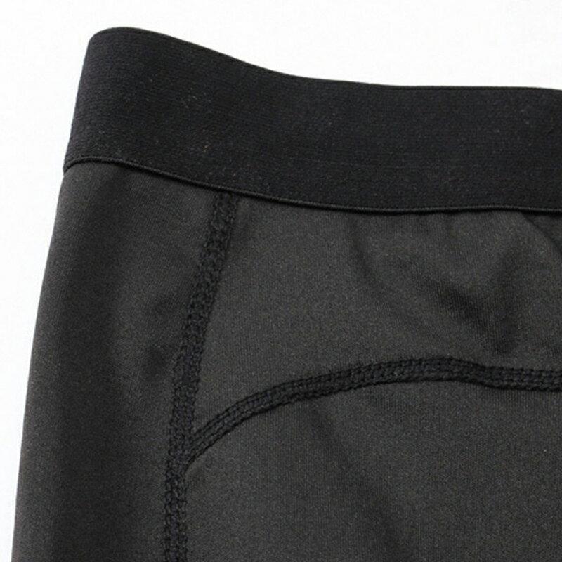 AREXSPORT機能收納男收腹彈力吸排高腰緊身運動褲 AS-7157 黑 S~2L (健身 / 健走 / 戶外休閒 / 重訓 / 瑜珈) 5