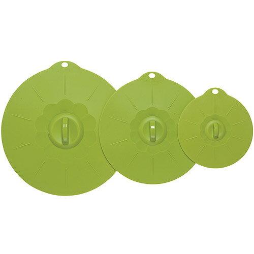 《NOW》耐熱密封蓋大小3件(綠)