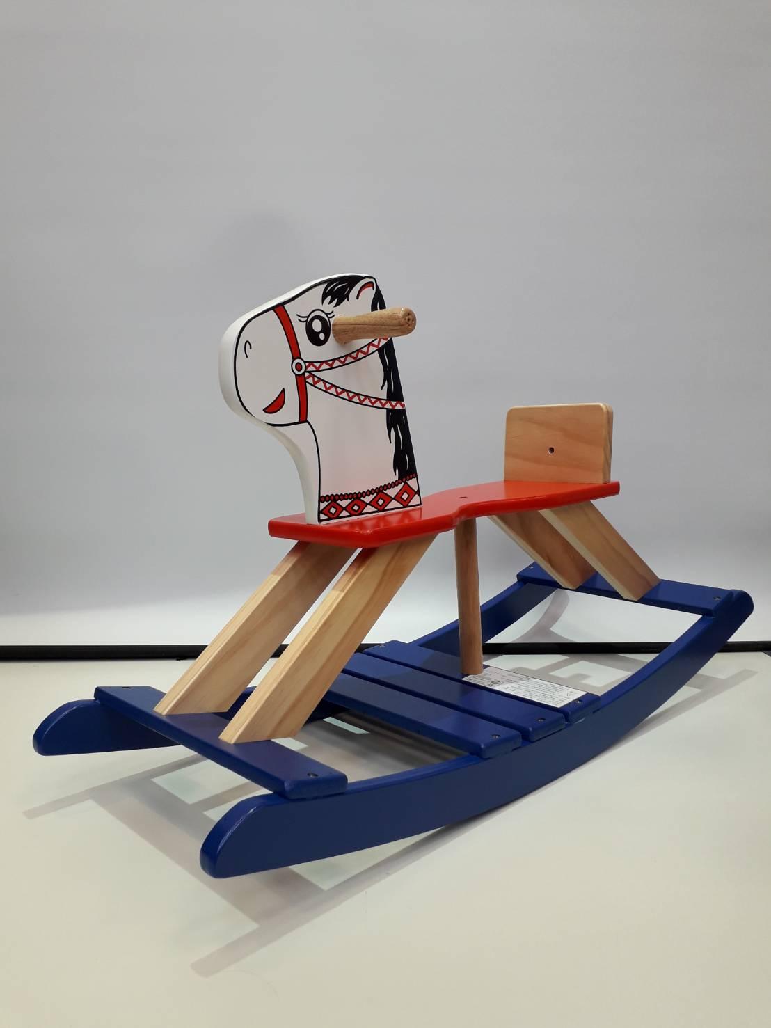 【淘氣寶寶】 原木復古小木馬/搖搖馬 台灣製造(許多大人的共同回憶)
