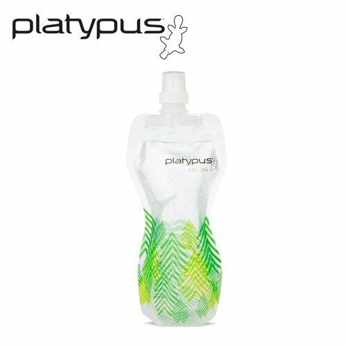 ├登山樂┤美國PlatypusSoftBottle軟式運動水瓶0.5L-森林#PLATY-06879