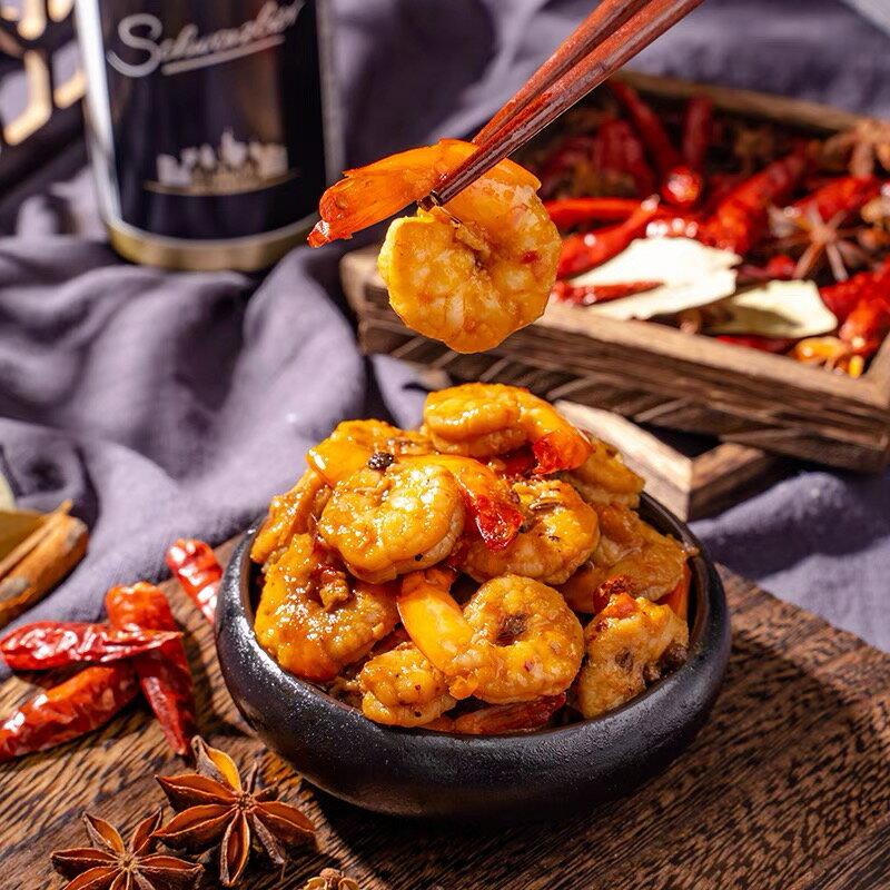 台灣製作吮指麻辣蝦