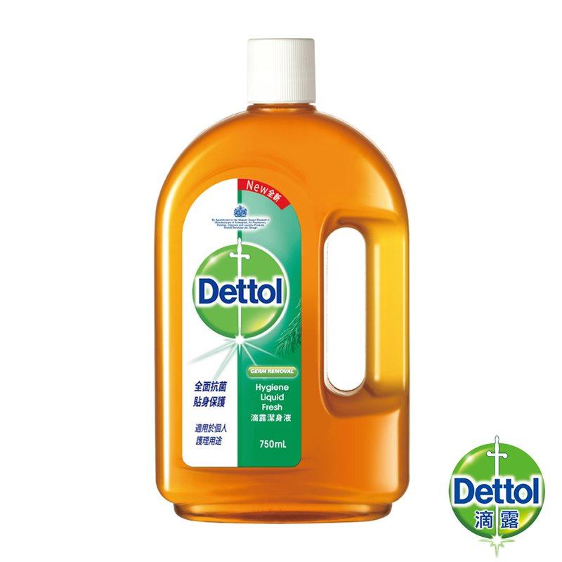 滴露潔身液(750ml) 洗身體 清潔 個人護理 刮鬍 皮膚護理