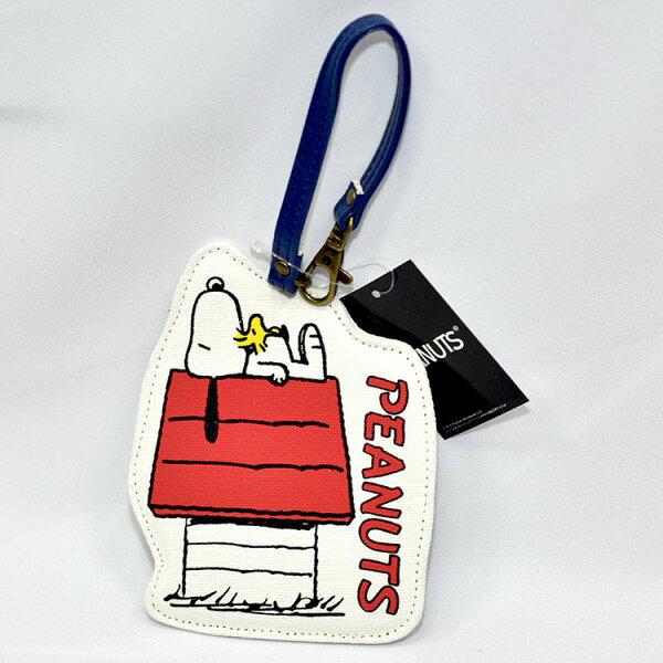 SNOOPY史努比行李識別吊牌吊飾日本正版商品