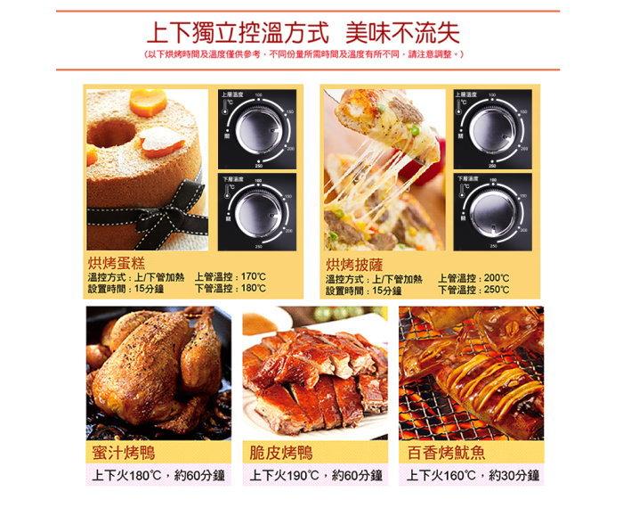 ★免運★ENLight 33L旋風烤箱 PB-332 (附烤盤*2 烤網*1 烤網夾*1) 6