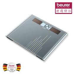【德國博依beurer】太陽能玻璃體重計 GS380