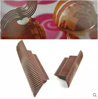 木輪根 紋路刷 膠木輪根 巧克力裝飾 蛋糕木紋效果 紋路效果1入