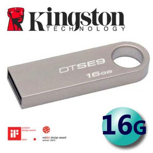 Kingston 金士頓 16GB DTSE9 SE9 USB2.0 隨身碟