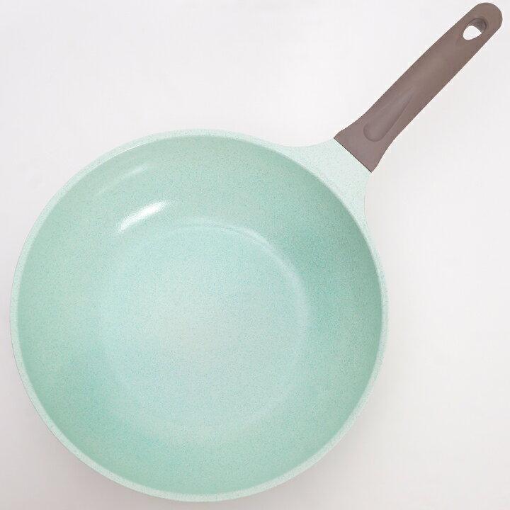 KUKUNA 超輕量翡翠塗層不沾鍋-28CM深鍋 / IH爐對應-日本必買 日本樂天代購 4