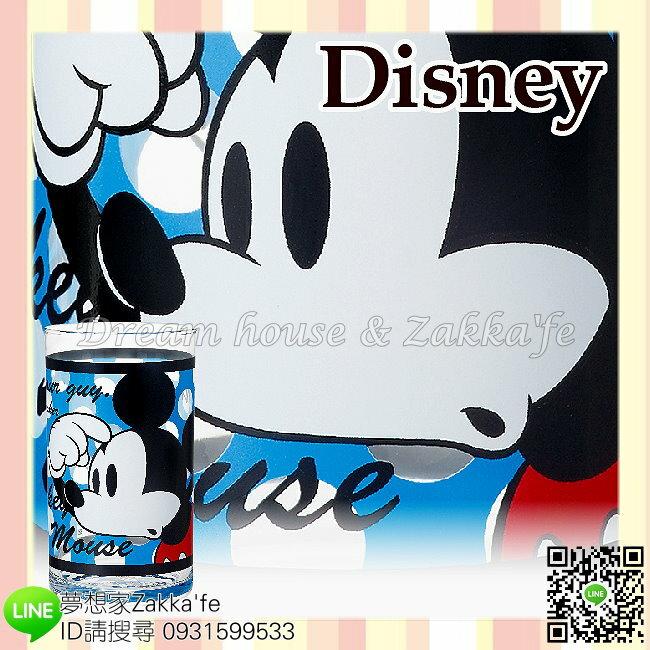 日本進口 Disney 迪士尼 米奇 玻璃杯/水杯/果汁杯 《 日本製 》 ★ 夢想家精品家飾 ★