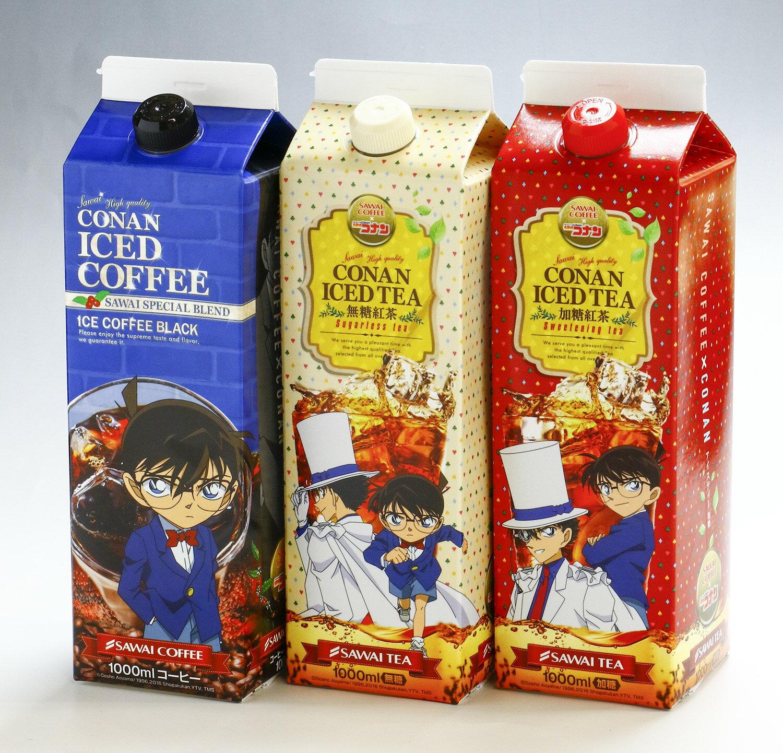 澤井咖啡-全台首賣 名偵探柯南咖啡禮盒-5入特調咖啡+5入歐洲經典+5入經典原味 2