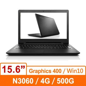 Lenovo 聯想 IdeaPad110 80T7002QTW 15.6吋Intel雙核Win10效能輕薄筆電15.6吋/N3060/4GD3L/500G/DVD/W10/1Y