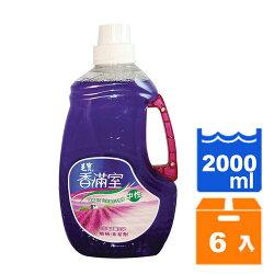 毛寶 香滿室 北海道薰衣草 中性 地板清潔劑 2L(6入)/箱