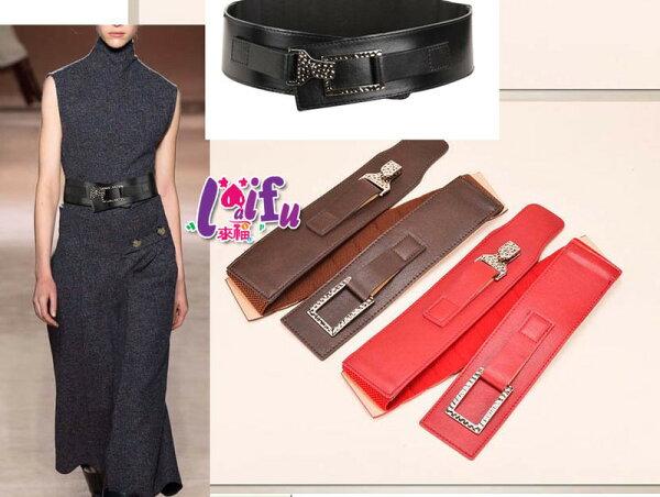 ★草魚妹★H633腰帶對勾官方專屬寬腰帶鬆緊腰帶皮帶正品,售價380元