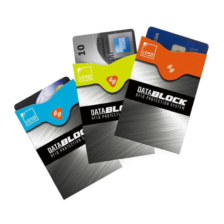 Lewis N. Clark RFID屏蔽信用卡套 1209 (3入) / 城市綠洲 (防盜錄、收納套、美國品牌)